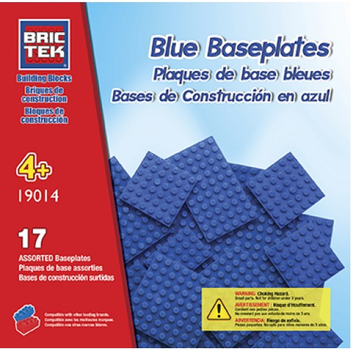 Brictek Set: Blue Baseplates