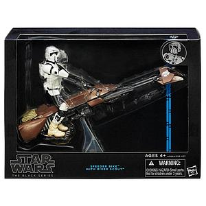 Star Wars Legends The Black Series: Speeder Bike w/ Bike
