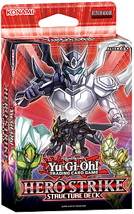 YuGiOh Trading Card Game Structure Deck: Hero Strike