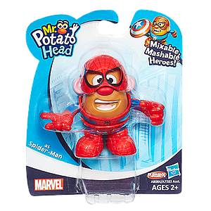 Mr. Potato Head Mixable Mashable Heroes: Spider-Man