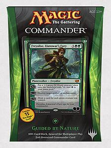 Magic the Gathering: Commander 2014 - Guided by Nature Deck (Green)