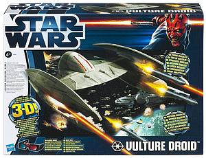 Star Wars Discover the Force 3D Class II Vehicle: Vulture Droid