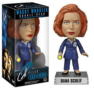 Wacky Wobblers Television The X-Files Dana Scully Bobblehead