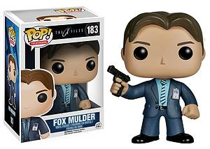 Pop! Television The X-Files Vinyl Figure Fox Mulder #183 (Retired)