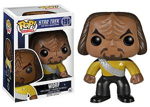Pop! Television Star Trek Next Generation Vinyl Figure Worf #191 (Retired)