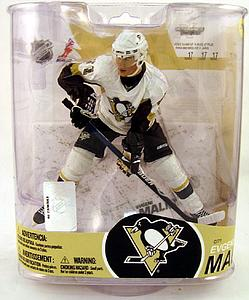 NHL Sportspicks Series 17 Evgeni Malkin (Pittsburgh Penguins) White Jersey Variant