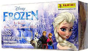 Panini Disney Frozen Ice Dreams Photocards Box