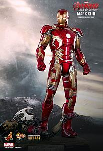 Iron Man Mark XLIII Diecast (MMS278-D09)