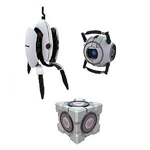 Portal 2 Sentry Turret Mini-Figures Series 3 Pack