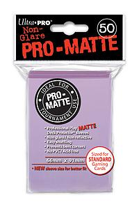 Card Sleeves 50-pack Non-Glare Pro-Matte Standard Size: Lilac