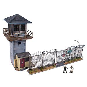 The Walking Dead Prison Tower & Gate Building Sets