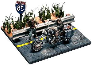 The Walking Dead Daryl Dixon with Chopper Building Sets