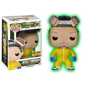 Pop! Television Breaking Bad Vinyl Figure Jesse Pinkman (Glows in the Dark) #161 Hot Topic Exclusive