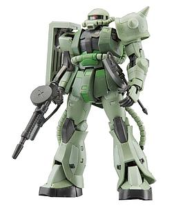 Gundam Real Grade Excitement Embodied 1/144 Scale Model Kit: #04 MS-06F Zaku II