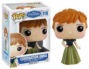 Pop! Disney Frozen Vinyl Figure Coronation Anna #119 (Retired)