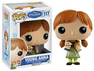 Pop! Disney Frozen Vinyl Figure Young Anna #117 (Retired)