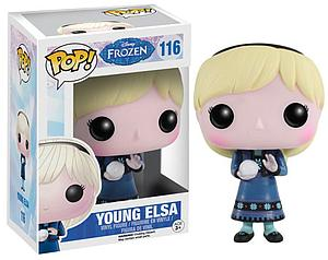 Pop! Disney Frozen Vinyl Figure Young Elsa #116 (Retired)