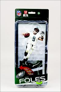 NFL Sportspicks Series 35 Nick Foles White Jersey (Philadelphia Eagles) Collector Level