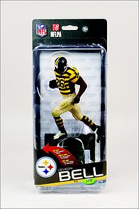 NFL Sportspicks Series 35 Le'Veon Bell Yellow & Black Stripe Jersey (Pittsburgh Steelers) Collector Level