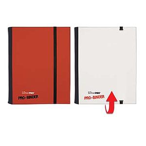 4-Pocket Pro-Binder: Red & White