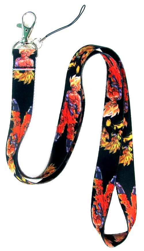Dragon Ball Z Lanyard Goku (Super Saiyan)