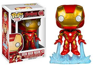 Pop! Marvel Avengers Age of Ultron Vinyl Bobble-Head Iron Man Mark 43 #66 (Vaulted)