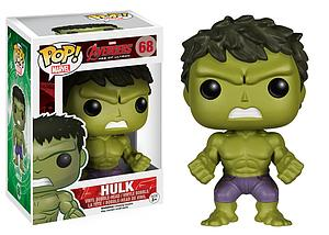 Pop! Marvel Avengers Age of Ultron Vinyl Bobble-Head Hulk #68