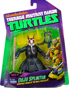 Nickelodeon Playmates Teenage Mutant Ninja Turtles: Dojo Splinter (Canadian Packaging)
