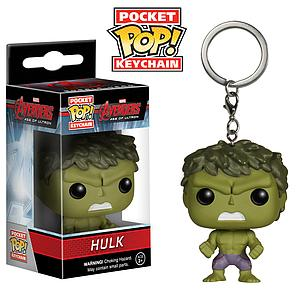 Pop! Pocket Keychain Avengers Age of Ultron Vinyl Figure Hulk