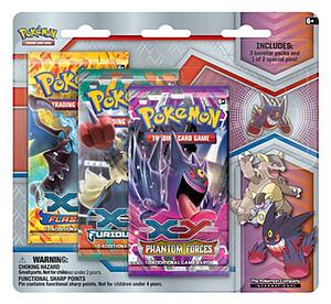 Pokemon TCG Mega Evolution Collector's Gengar Pin 3 Packs