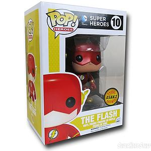 Pop! Heroes DC Vinyl Figure The Flash (Metallic) #10 Chase