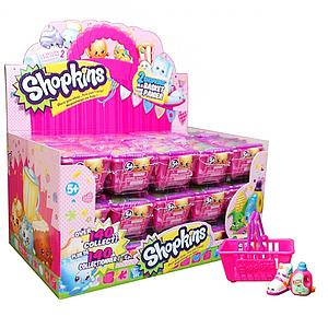 Shopkins Season 2 2-Pack Mini Figures Shopping Basket Box (30 Baskets)