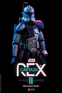 Sideshow Collectibles Star Wars Captain Rex Phase II Armor
