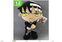 "Plush Toy Soul Eater 12"" Death the kid"