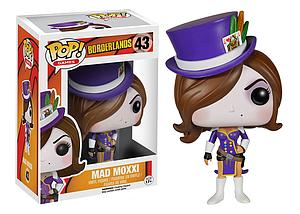 Pop! Games Borderlands Vinyl Figure Mad Moxxi #43