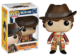 Pop! Television Doctor Who Vinyl Figure Fourth Doctor #222 (Retired)