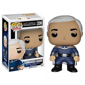 Pop! Television Battlestar Galactica Classic Vinyl Figure Commander Adama #230 (Retired)
