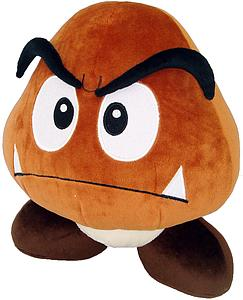 "Plush Toy Super Mario Bros 12"" Goomba"