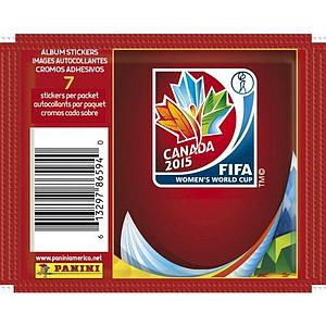 2015 Panini FIFA Women's World Cup Canada Sticker Pack