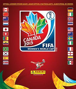 2015 Panini FIFA Women's World Cup Canada Sticker Album