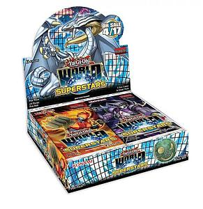 YuGiOh Trading Card Game: World Superstars Booster Box (24 Packs)