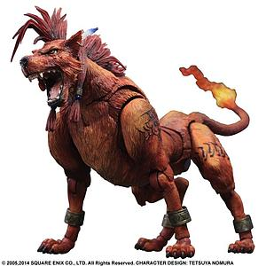 Square Enix Final Fantasy VII Advent Children Play Arts Kai: No. 4 Red XIII