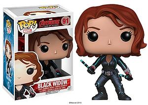 Pop! Marvel Avengers Age of Ultron Vinyl Bobble-Head Black Widow #91 (Vaulted)