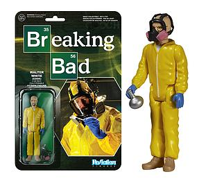 ReAction Figures Breaking Bad Walter White Cook Suit (Retired)