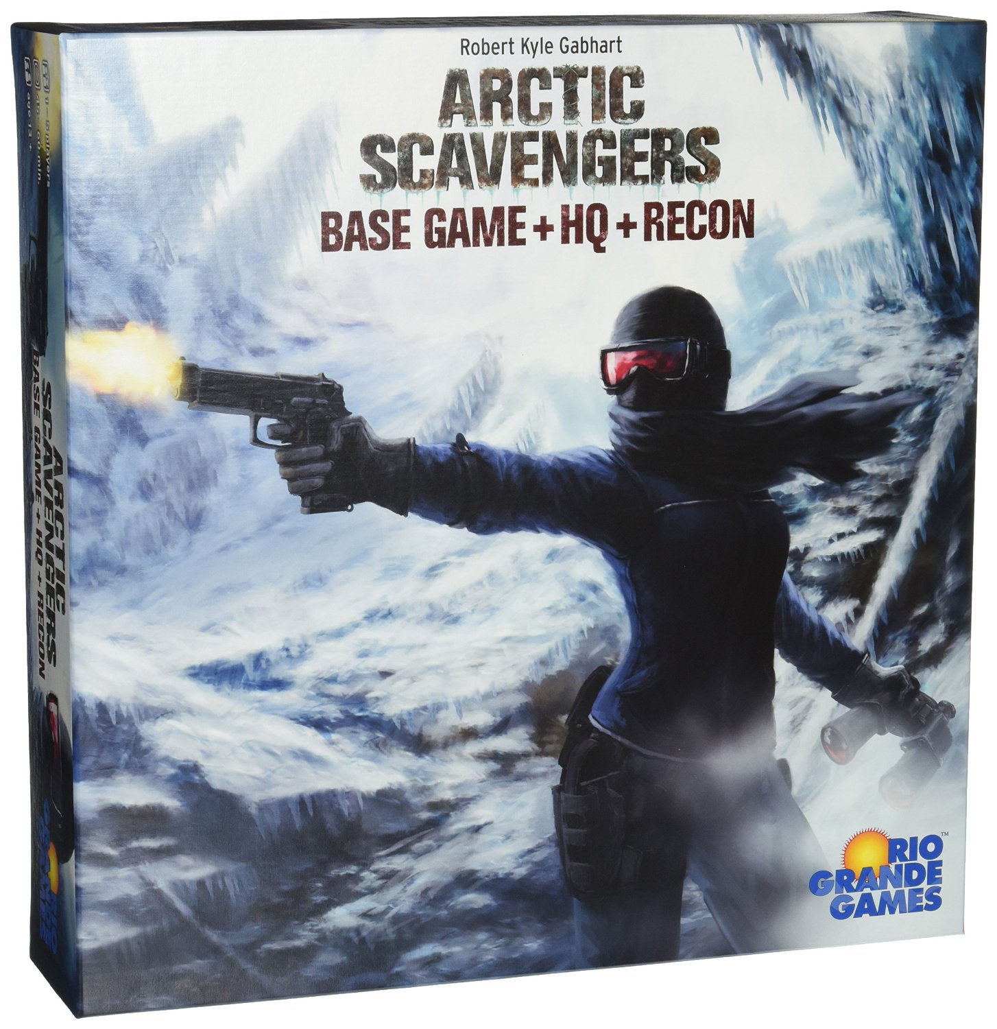 Arctic Scavengers: Base Game + HQ + Recon Expansions