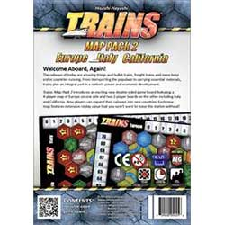 Trains Map Pack 2 (Europe Italy California)