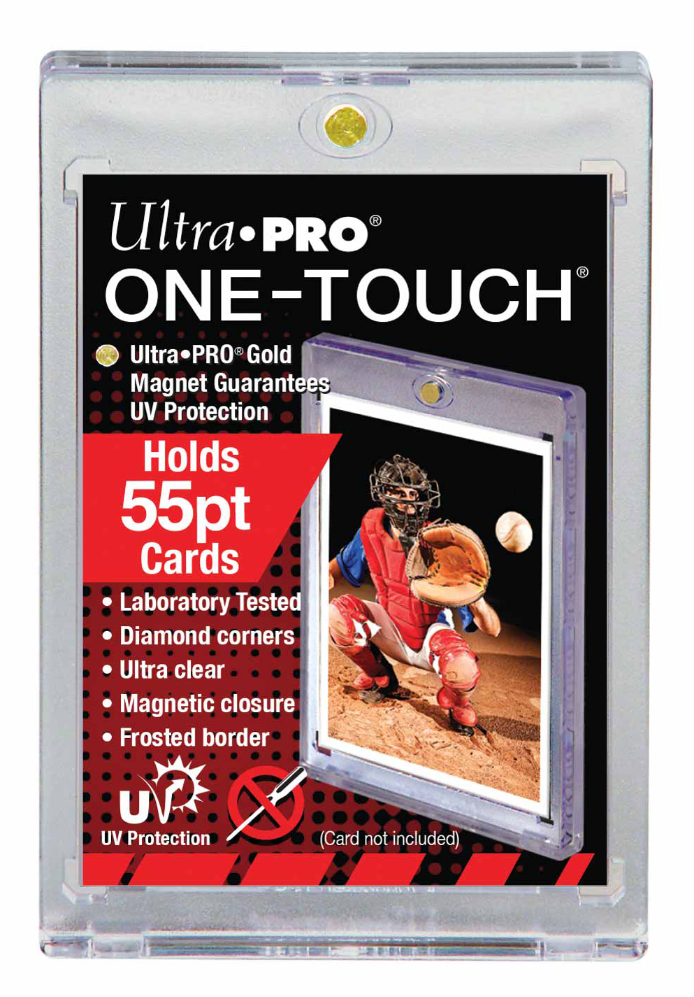 55pt One-Touch Magnetic Card Holder