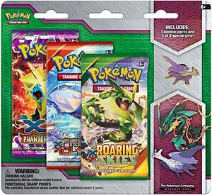 Pokemon TCG Mega Evolution Collector's Latios Pin 3 Packs
