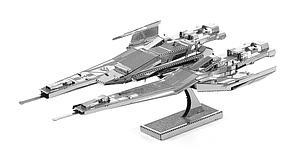 Metal Earth 3D Laser Cut Model Mass Effect SX3 Alliance Fighter