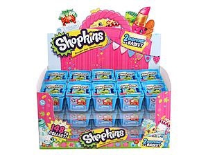 Shopkins Season 1 2-Pack Mini Figures Shopping Basket Box (30 Baskets)